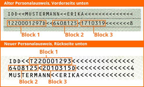 Personalausweiss Bild
