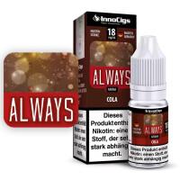 Always Cola - InnoCigs Liquid für E-Zigaretten