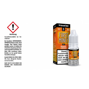 First Money Orangenlimonade Aroma - InnoCigs Liquid für...