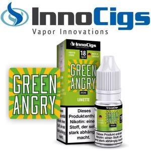 Green Angry Limetten Aroma - InnoCigs Liquid für...