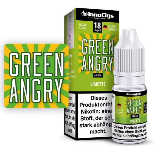 Green Angry Limetten Aroma - InnoCigs Liquid für E-Zigaretten