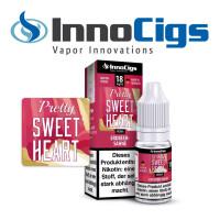 Pretty Sweetheart Sahne-Erdbeer Aroma - InnoCigs Liquid für E-Zigaretten
