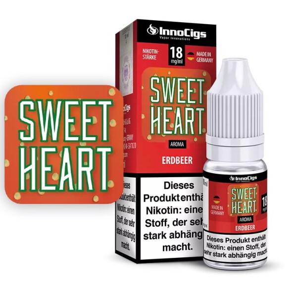 Sweetheart Erdbeer Aroma - InnoCigs Liquid für E-Zigaretten