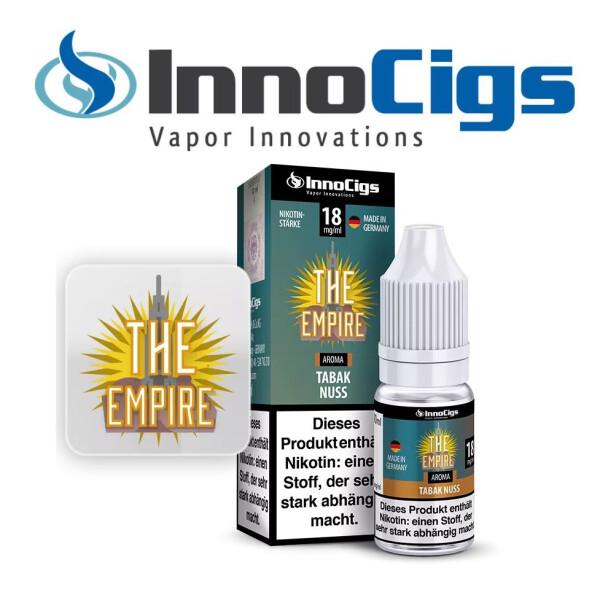 The Empire Tabak Nuss Aroma - InnoCigs Liquid für E-Zigaretten