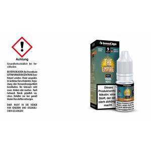 The Empire Tabak Nuss Aroma - InnoCigs Liquid für E-Zigaretten