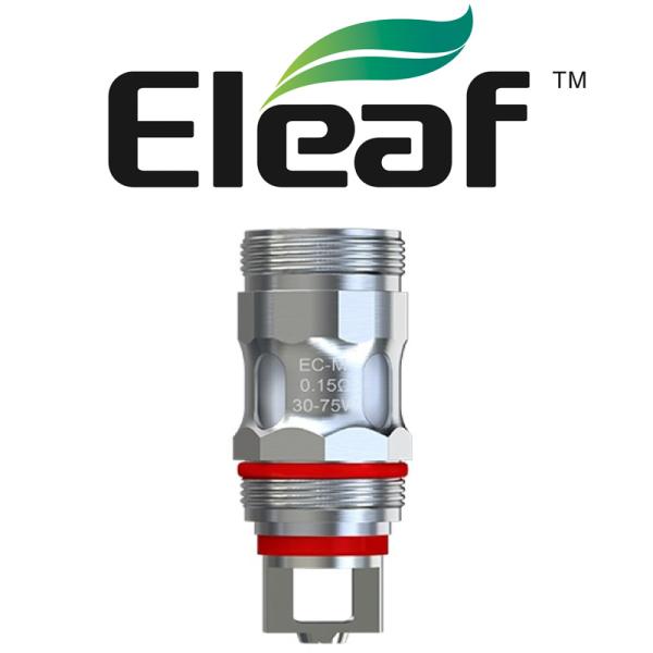 Eleaf EC-M Head 0,15 Ohm - 5 Stück (SC - Silverconcept)