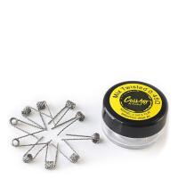 COILART 10 x Prebuild Mix Twisted Coil 0.45 Ohm (0.2x0.8/26GA) - P6