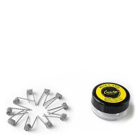 COILART 10 x Prebuild Hive Coil 0.45 Ohm (2x 30GA/2x 30GA) - P8