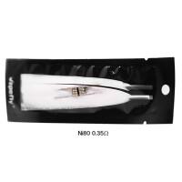 Vapefly 2x Firebolt Cotton + Prebuild Ni80 Fused Clapton Coil 0.35 Ohm