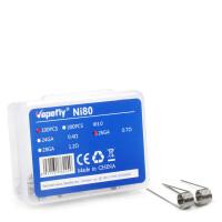 Vapefly 100x Ni80 26GA Prebuild Coil