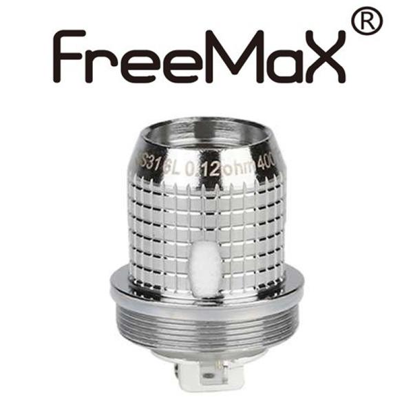 FreeMax SS316L X1 Mesh Verdampferkopf 0,12 Ohm (5 Stück pro Packung)