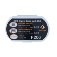 GeekVape 8x Ni80 Alpha Braid Coil 2 in 1 Set F206