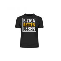 """T-Shirt """"E-ZigaRetten Leben"""" L"""