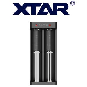 XTAR MC2 2-Schacht USB-Ladegerät