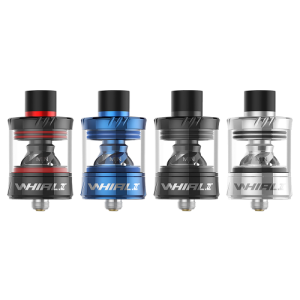 Uwell Whirl 2 Clearomizer Set rot