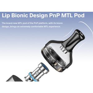 VooPoo PnP MTL Pod 2ml - ohne Coils (2 Stück pro...