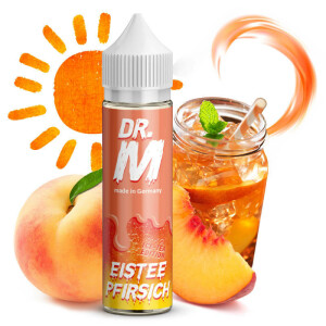 Dr. M - Longfill Aroma Eistee Pfirsich 15ml