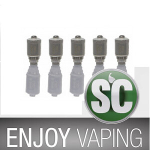SC - GS Air Pure Cotton Head 0,75 Ohm (5 Stück pro Packung)
