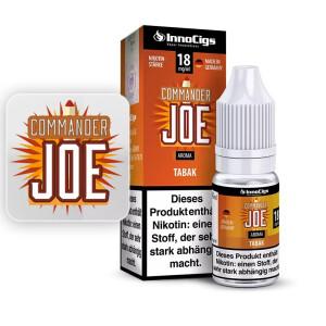 Commander Joe - Tabak - InnoCigs Liquid für E-Zigaretten