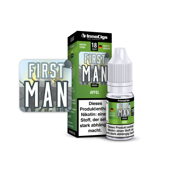 First Man - Apfel - eLiquid Made in Germany