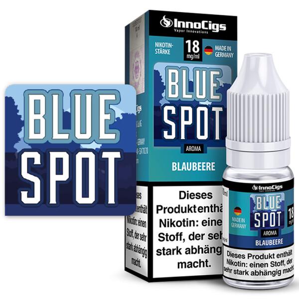 Blue Spot Blaubeere - InnoCigs Liquid für E-Zigaretten