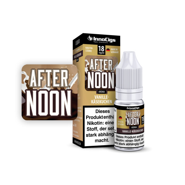 After Noon Vanille-Käsekuchen - InnoCigs Liquid für E-Zigaretten