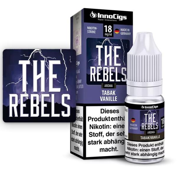The Rebels Tabak Vanille Aroma - InnoCigs Liquid für E-Zigaretten