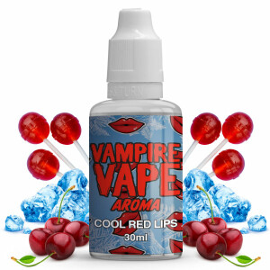 COOL RED LIPS 30 ml Aroma - Vampire Vape