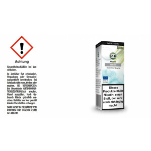 Menthol - SC E-Zigaretten Liquid 12 mg/ml