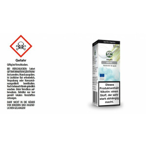 Menthol - SC E-Zigaretten Liquid 18 mg/ml