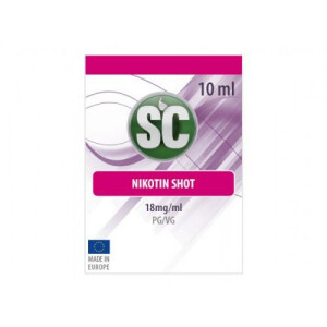 SC - 10ml Shot 50PG/50VG 18 mg/ml