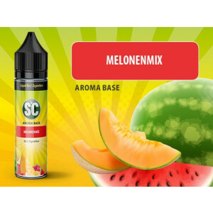 Melonenmix - SC Vape Base 0mg/ml 50ml - Shake and Vape