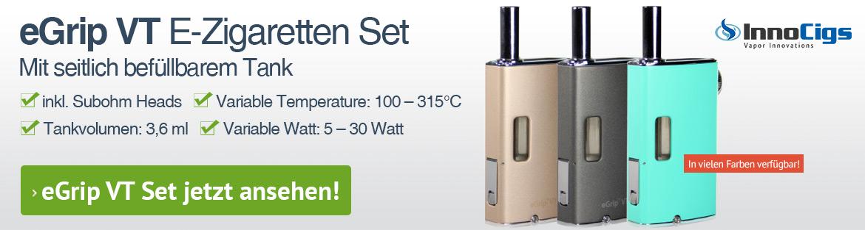 eGrip VT E-Zigaretten Set