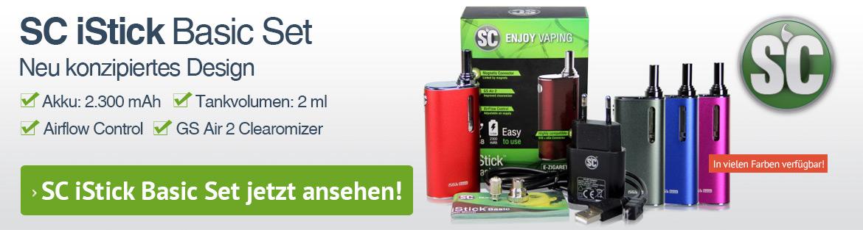 SC iStick Basic E-Zigarette